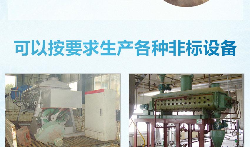 空心桨叶干燥机非标生产